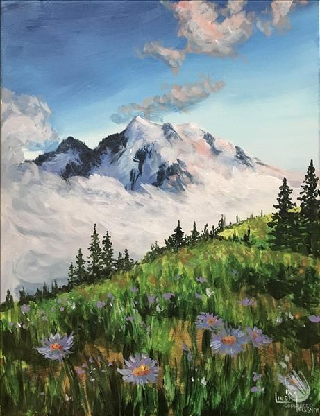 How to Paint Wild Flower Hike