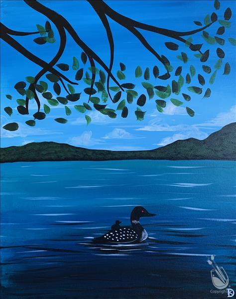 *IN STUDIO* Loons on the Lake
