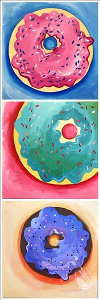 Design Your Doughnut!~Square Canvas