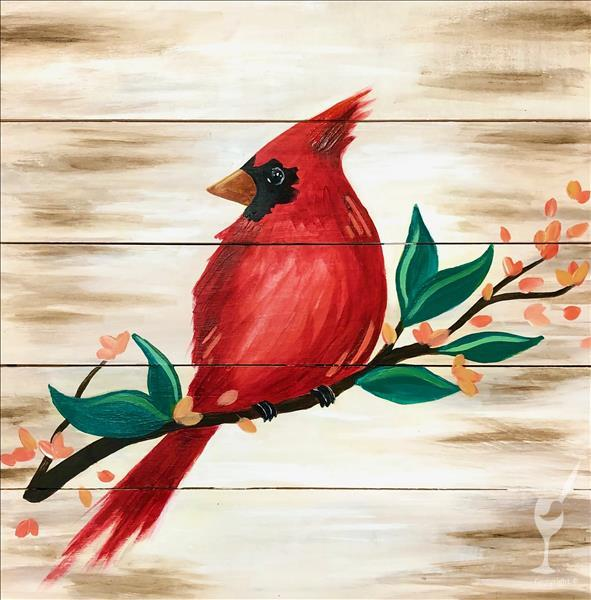Joyful Cardinal - Happy Mother's Day!