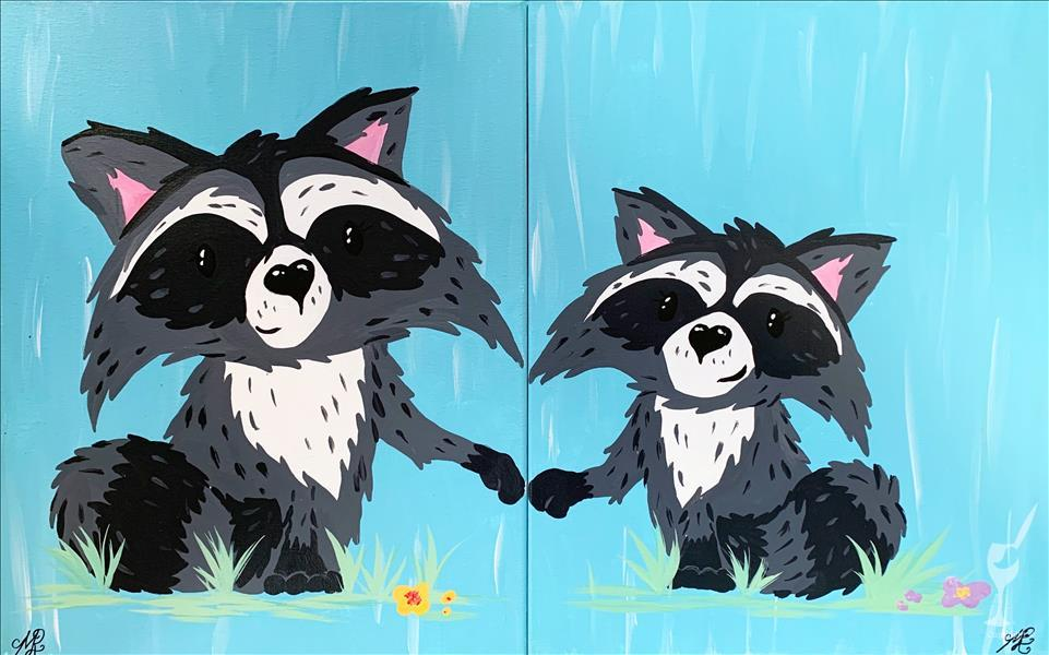 Mommy and Me - Raccoon Set