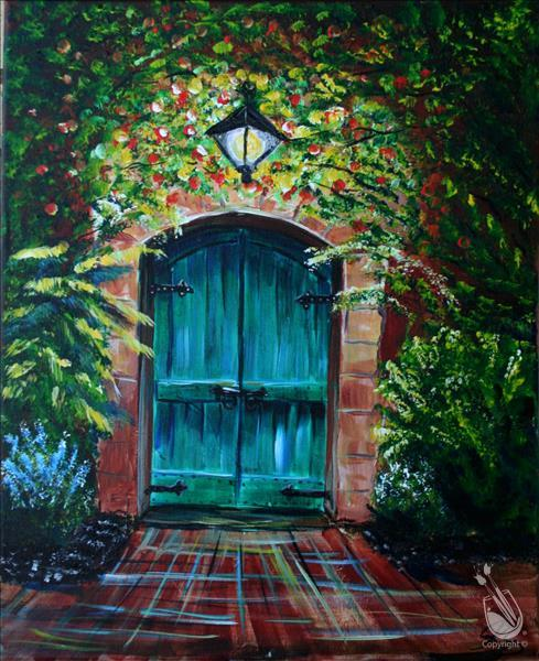 How to Paint (Canceled)Renata's Green Door - 3hr (Save $10)
