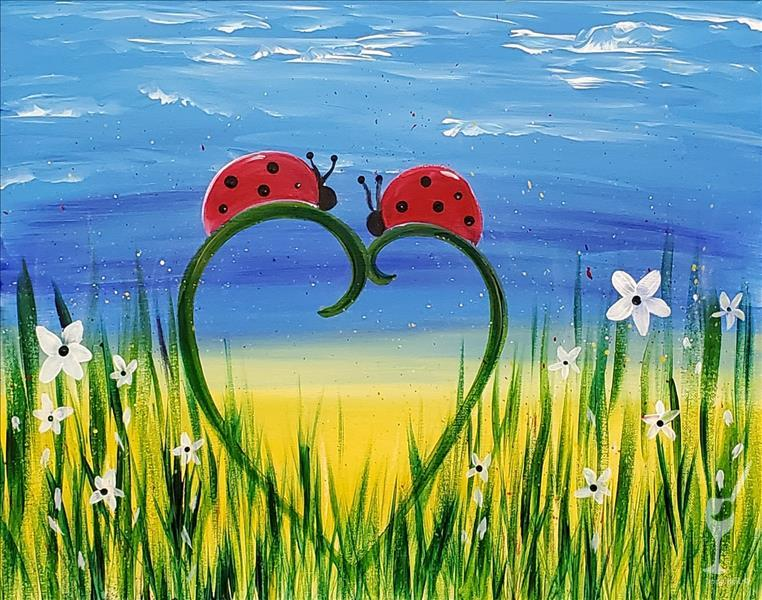 How to Paint Ladybugs|All Ages Set or Solo