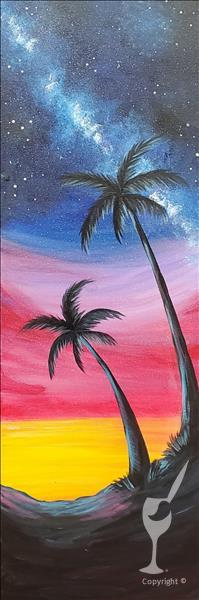 LIVE VIRTUAL CLASS~Palms Under the Stars