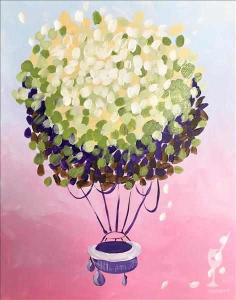 How to Paint NEW Art! Hydrangeas in Flight
