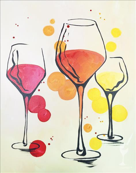 Wine for 3  **PAINT 1 - TAKE 1**
