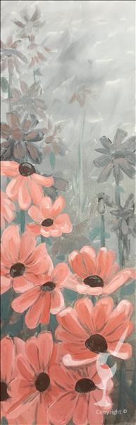 Silver Mist Flowers - In Studio