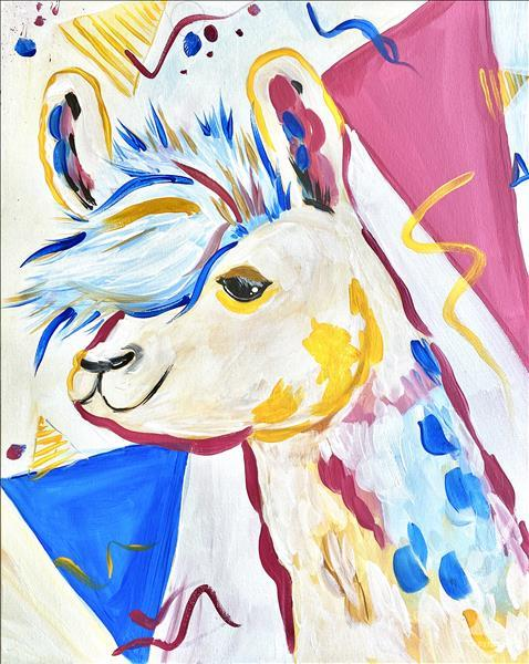 KIDS CAMP: POP ART LLAMA, Ages 8-14