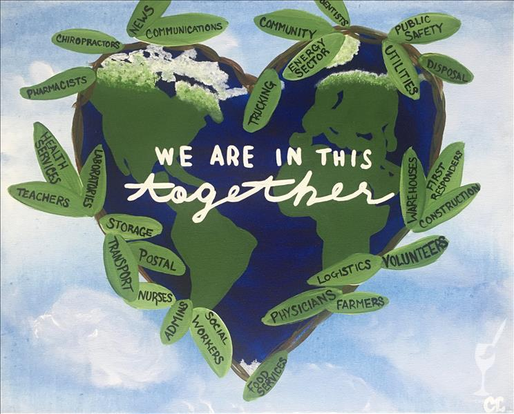We Are In This Together - In Studio