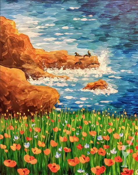 """Seaside Poppies"" Double Paint Points!"