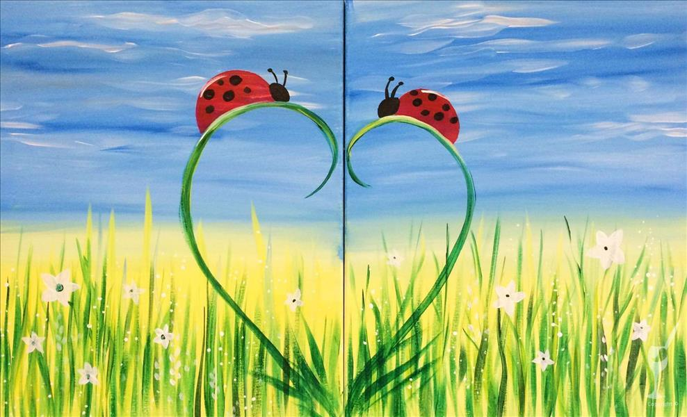 Ladybug Love - Set  **CHOOSE ONE SIDE**