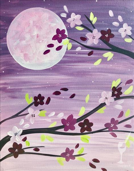 Moonlit Blooms