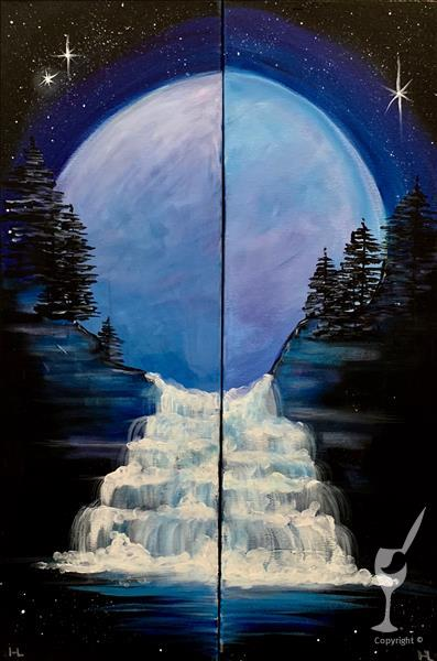 Blue Moon Rising - Couple's Set or Single!