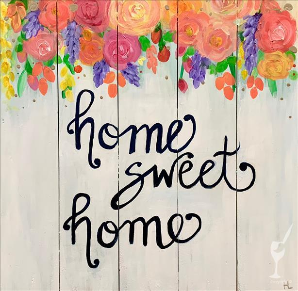 Thankful Thursday - Home Sweet Home Pallet
