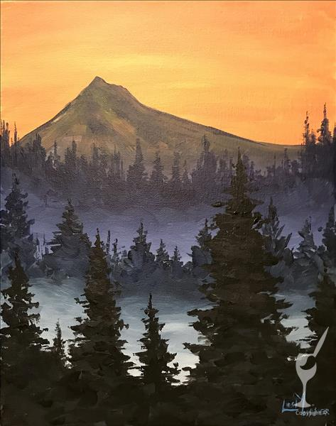 LIVE VIRTUAL CLASS~Misty Mountain Morning