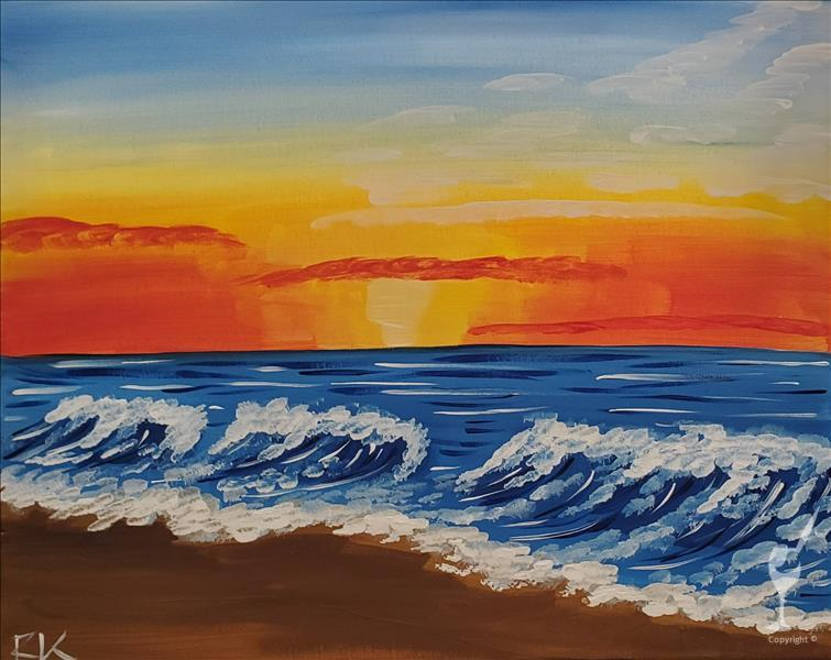 New Art alert • Beach Sunrise