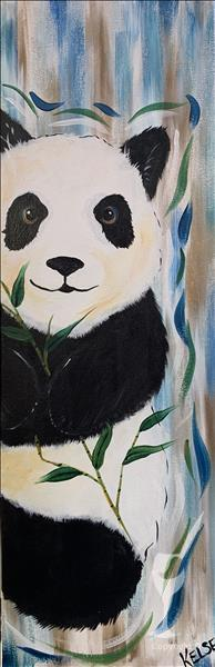 NEW Art! Peekaboo Panda