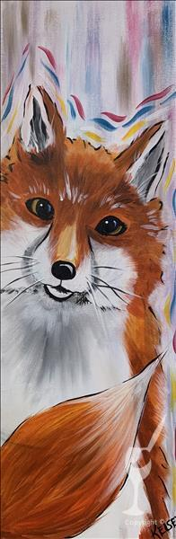 """Peekaboo Fox"" Long Art!"