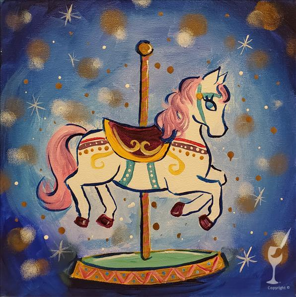 NEW! Colorful Carousel **LIMITED SEATING**