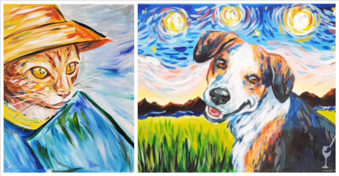 Van Gogh Your Pet TEENS AND UP