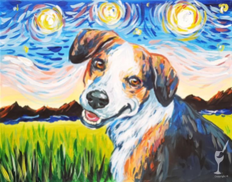 Paint Your Pet Van Gogh Style