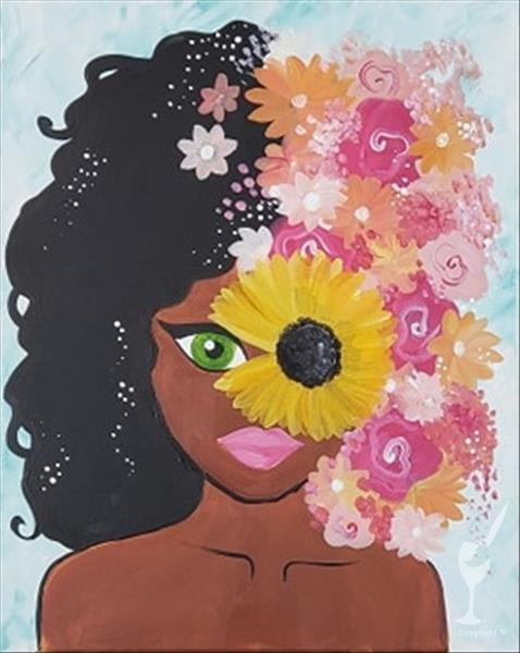 MANIC MONDAY! - Afro Bloom - $10 OFF!