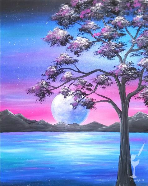Moonlit Calm (WILD WEDNESDAY! $30)