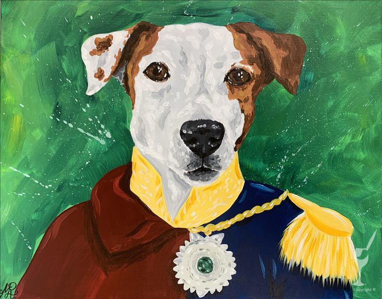 IN-STUDIO: Fancy Paint Your Pet
