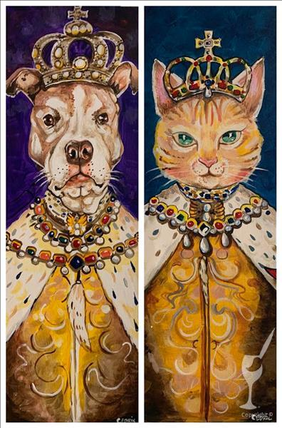 King or Queen Paint Your Pet! ANY PET! Adults Only