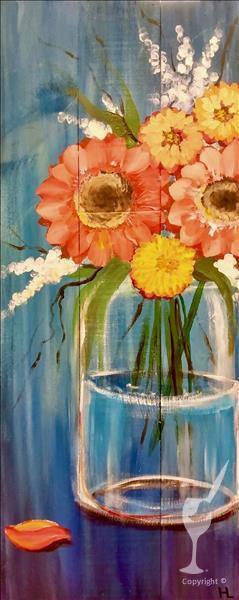 Garden's Grace on 10 x 30 Canvas ..Limited Seating