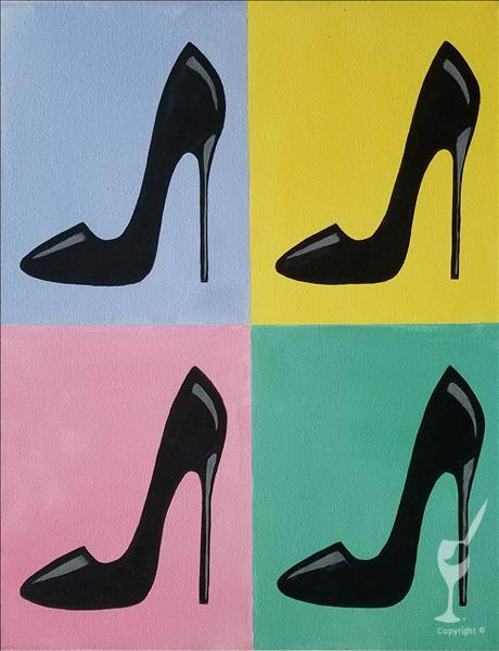 NEW: Pop Art Stilettos - Limited Seating