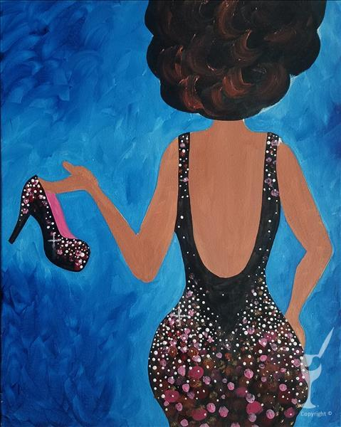 "SANGRIA SATURDAY!  ""Glam Girl"" Sip N Paint pARTy"