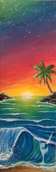 NEW: Tropical Shores Sunset - Limited Seating