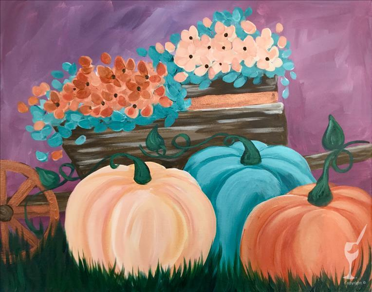 Pumpkins and Mums - In Studio Class