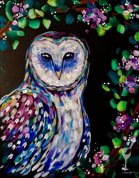 BLACKLIGHT EVENT ~ Wise Night Owl~2X PAINT POINTS