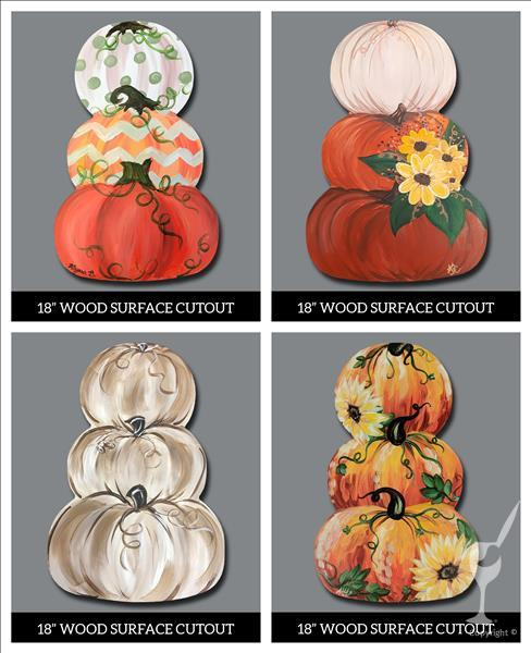 Pumpkin Cut Out Night - Pick One!  16&Up
