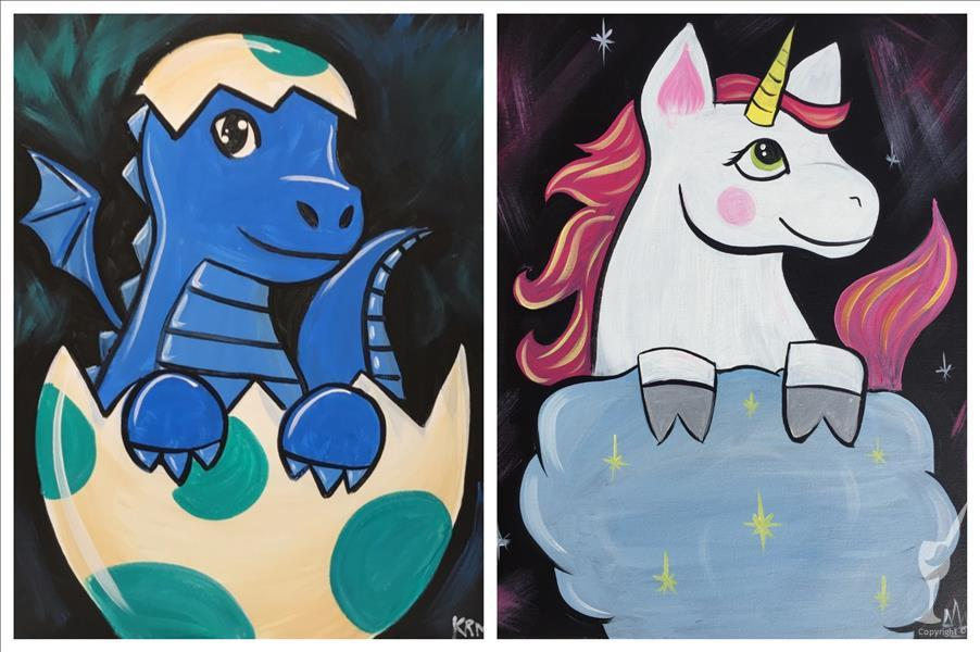 Kids Camp: Baby Dragon or Unicorn! You Pick!
