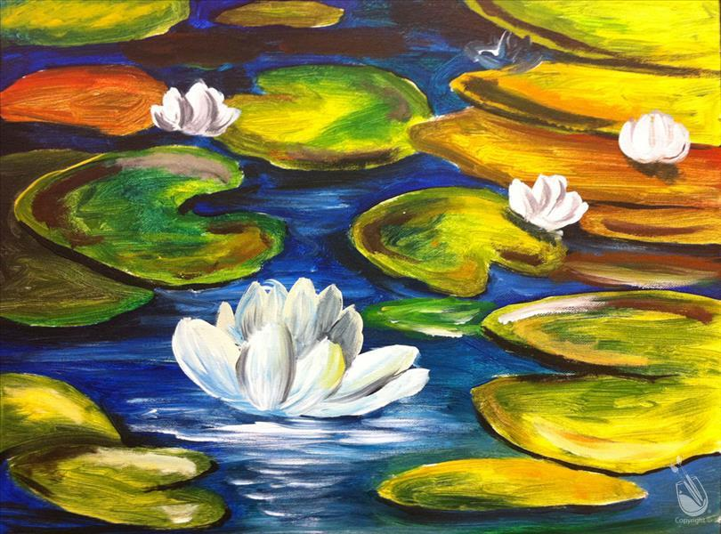 Water Lilies .. Limited Seating