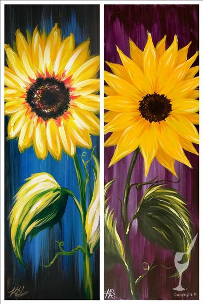 Rustic Sunflower - Pick Your Colors