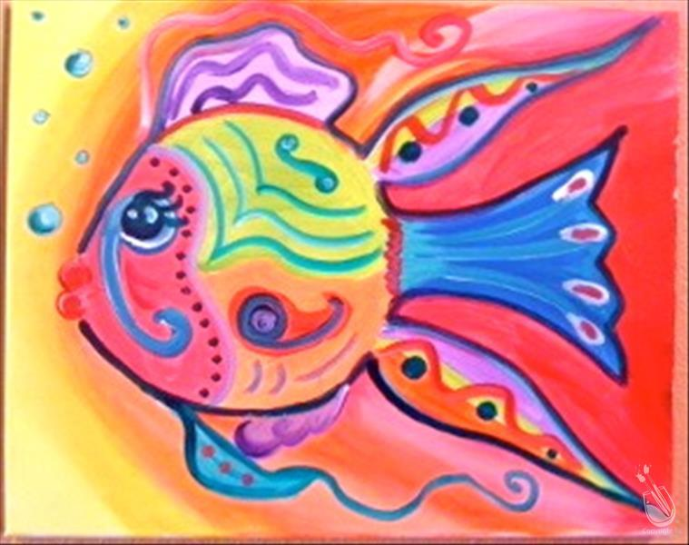 Fabulously fun fish thursday january 16 2014 for Painting with a twist lexington