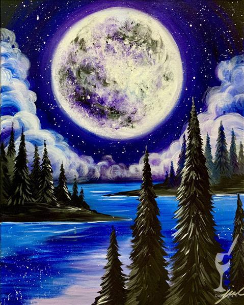 Purple Moon Rise - In Studio Class
