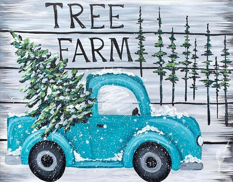 NEW! Vintage Tree Farm - Adults