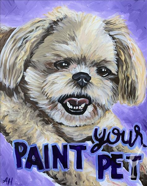Paint Your Pet! email us a photo, we'll presketch