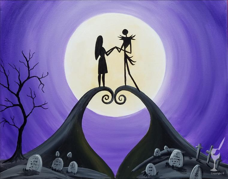 Spooky Couple-In Studio Class!