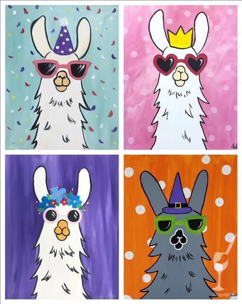 NEW! FAMILY FUN! Party Llama - Set  (All Ages)