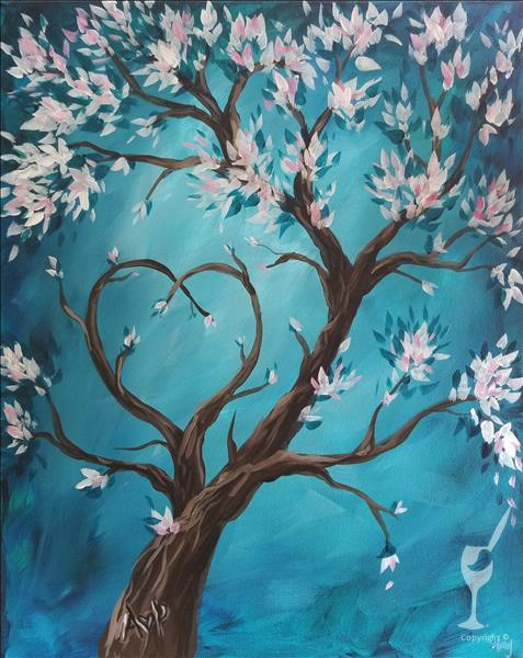 How to Paint Zen Love Tree