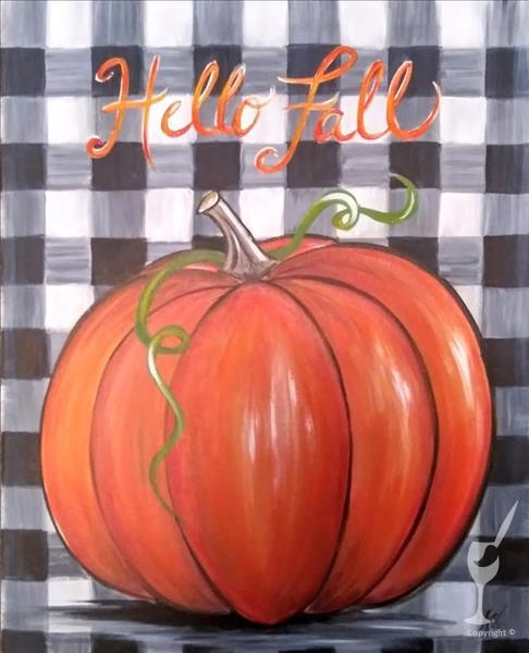 In Studio - Farmhouse Fall Pumpkin
