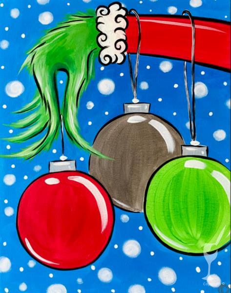 How to Paint *VIRTUAL CLASS* Stealin' Christmas (Ages 10+)