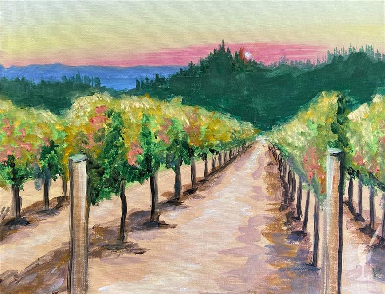 Painting & Wine with a View @ Meraviglioso Winery