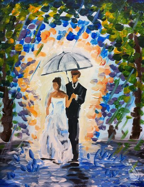 How to Paint Wedding Stroll